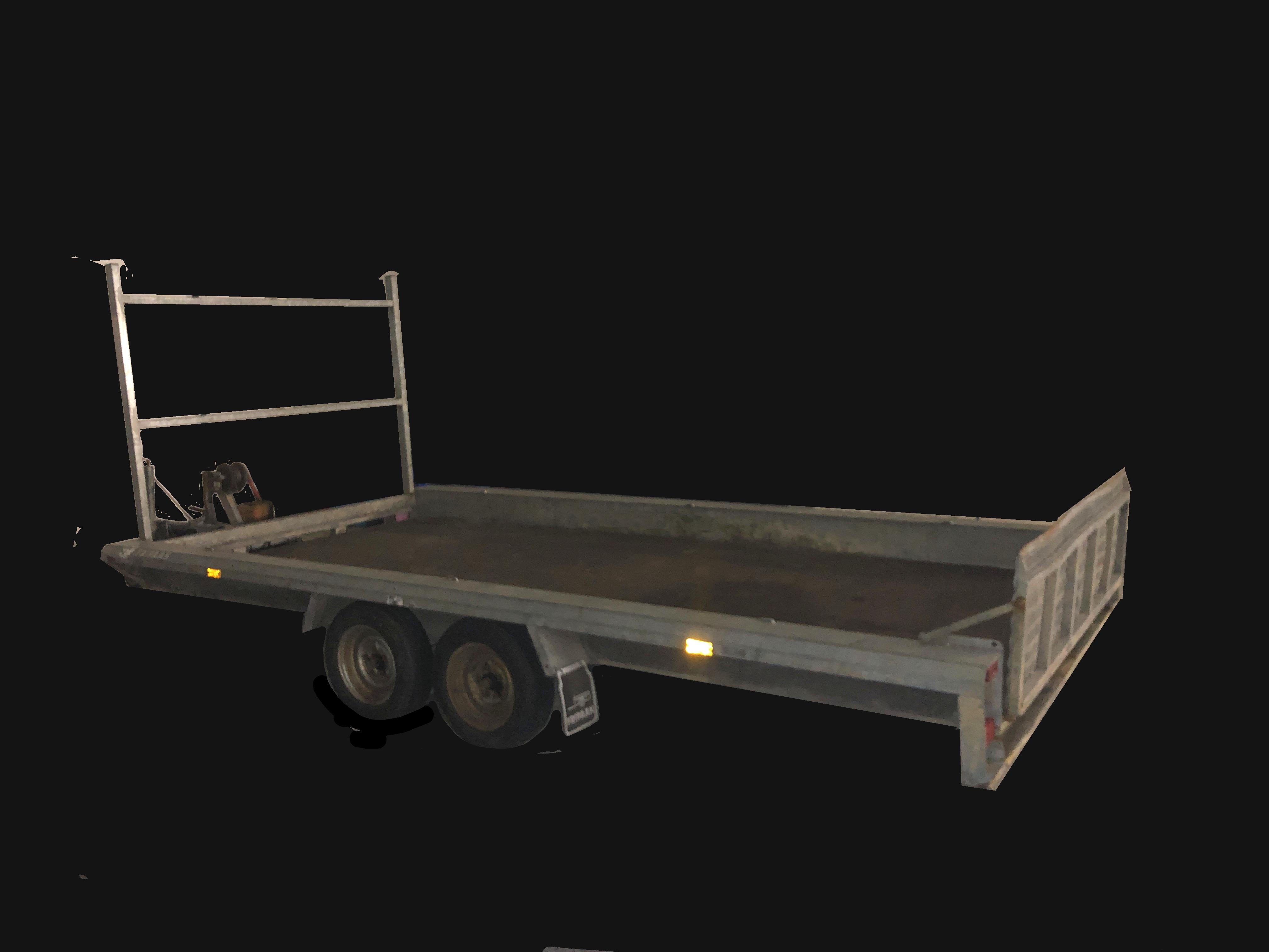 Aanhanger huren Multitransporter Machinetransporter