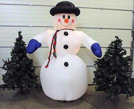 Sneeuwpop opblaasbaar