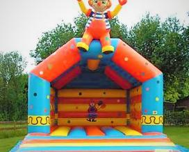 Springkussen Clown