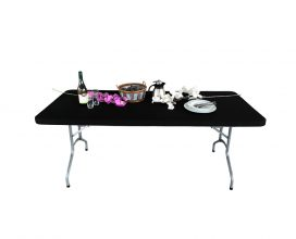 Zwarte tafel topper