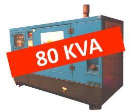 Diesel Aggregaat 80 kVA